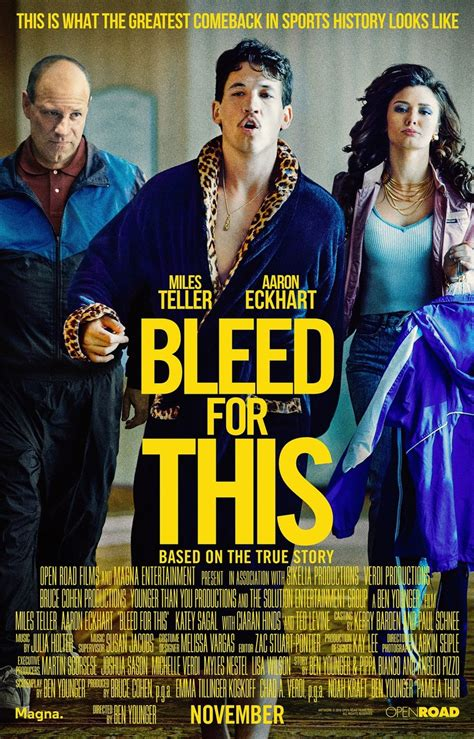 Bleed for This DVD Release Date February 14, 2017