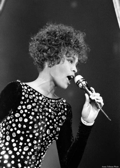 Whitney Houston Performs in Ames, Iowa | Ames History Museum