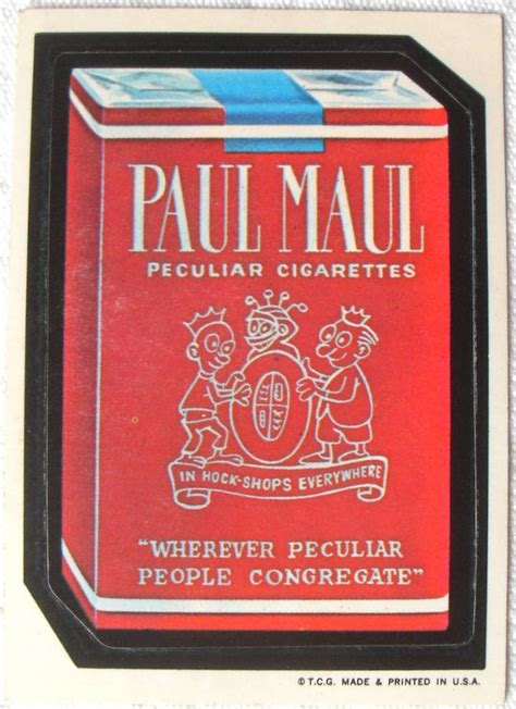 Wacky Packages Stickers: A Fad For Children Of The