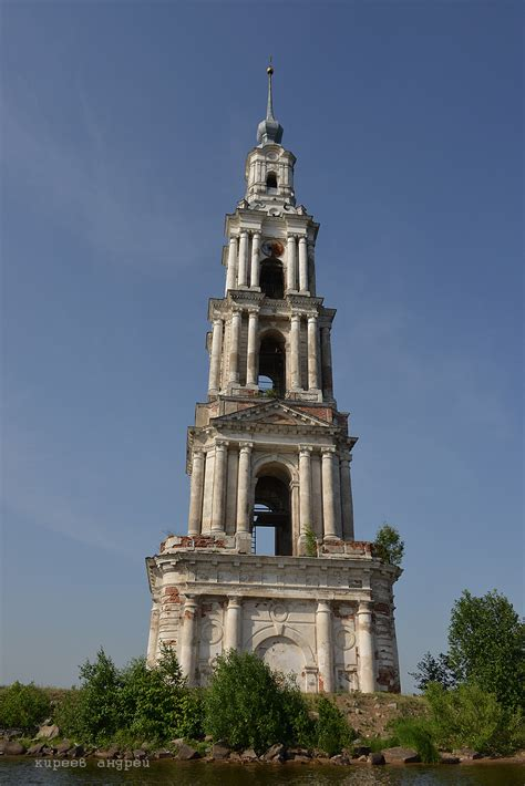 The Flooded Bell Tower of Kalyazin · Russia Travel Blog