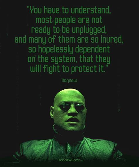 16 Quotes By Morpheus From 'The Matrix' That Prove He Is