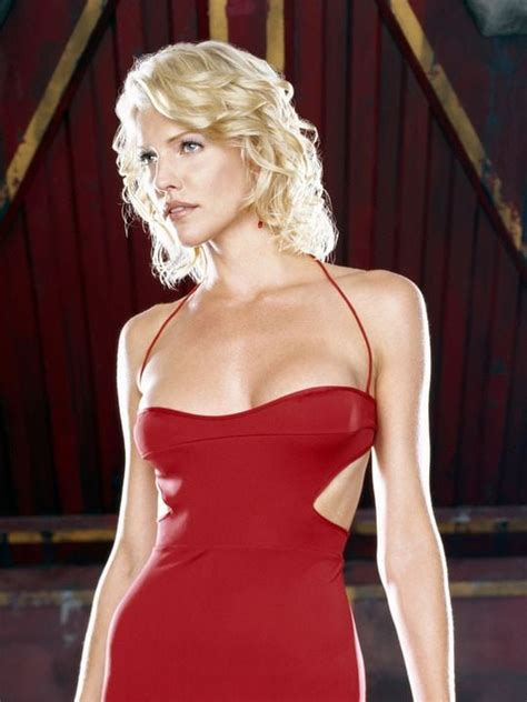 Tricia Helfer Hot & Sexy Near-Nude Look Like Naked Young