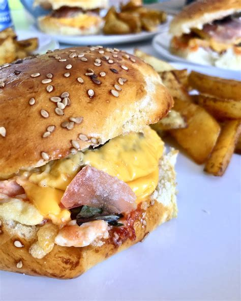 Burgers double cheese and bacon | Recette | Recette burger