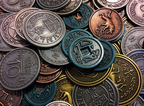 Scythe Metal Coins For The Board Game