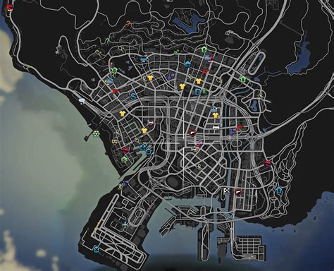 Colorful HUD (Weapons, Radio & Map Blips) - Mods pour GTA