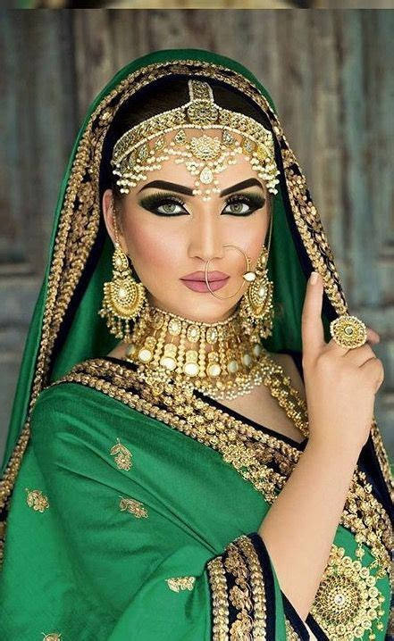 Pinterest: @pawank90: | Indian bridal makeup, Indian