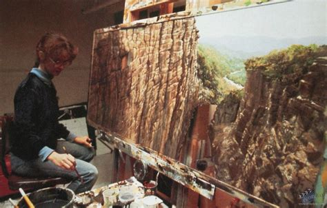 Matte painting study Film Production from Indiana Jones