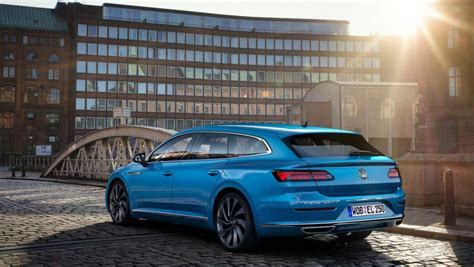 """The 2021 Volkswagen Arteon Gets A Refresh And A """"Shooting"""