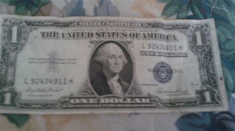 Silver Certificate 1935 E Dollar How Much Is It Worth