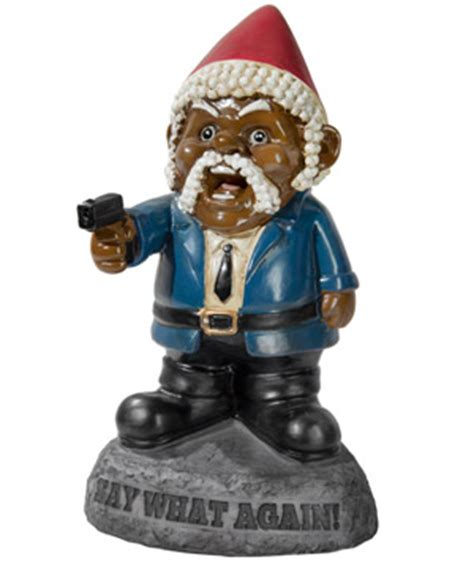 Pulp Fiction Say What Again! Garden Gnome