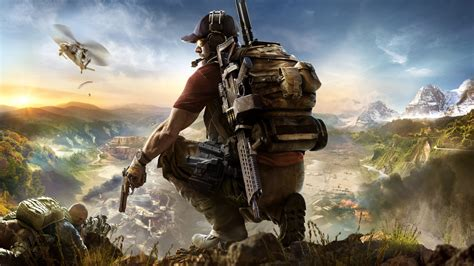 Wallpaper 2017 Games, HD, Tom Clancy's, Ghost Recon