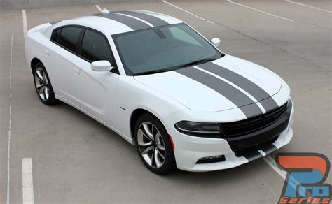 2015-2019 Dodge Charger RT Stripes Blacktop Edition N