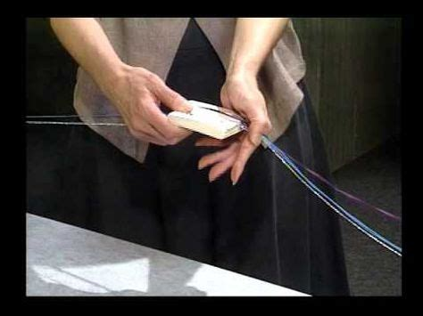 Tablet Weaving: How to make a continuous warp See Linda