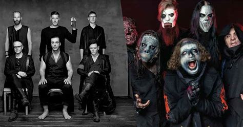 Slipknot and Rammstein are the only Metal bands to break