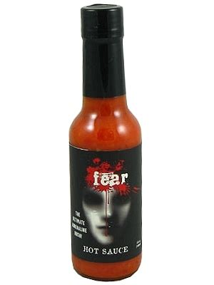 "Fear Hot Sauce with Bhut Jolokia ""Ghost"" Peppers, 5oz"