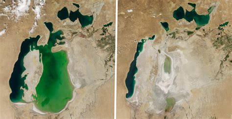 Before and After Photos Reveal Changing Earth Features