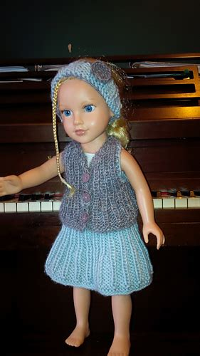 """Ravelry: American Girl 18"""" Miss Annabelle Set pattern by"""