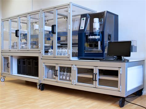 Automated DNA extraction, Normalization and PCR setup - GC