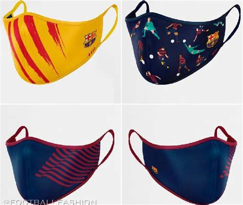 FC Barcelona Releases In-House Face Masks - FOOTBALL