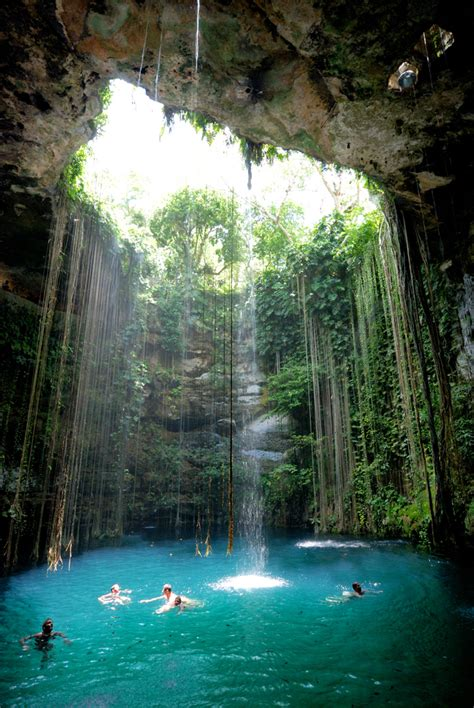 Hidden Cave Pool in Mexico | Most Beautiful Places in the