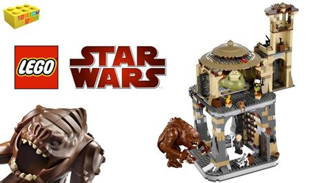 Lego Rancor Pit + Jabbas Palace Combined Review 9516