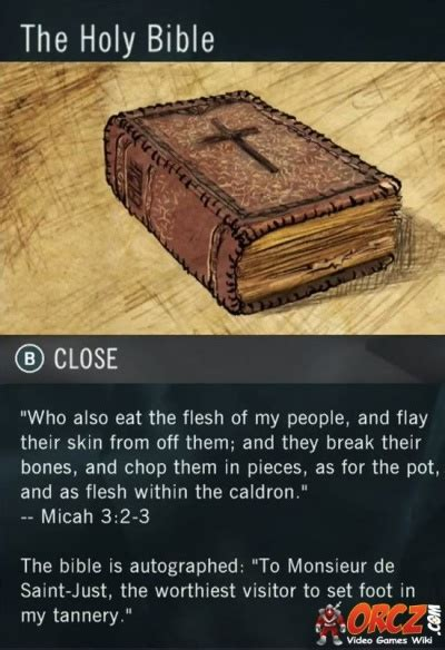 Assassin's Creed Unity Dead Kings: The Holy Bible - Orcz