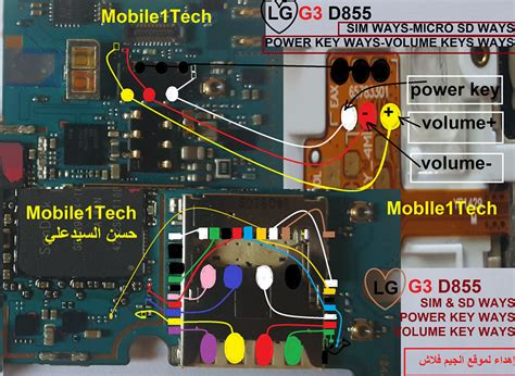 LG G3 D855 Insert Sim IC Solution Jumper Problem Ways