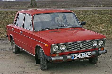 Russian Lada 2103 1500S 1980 front