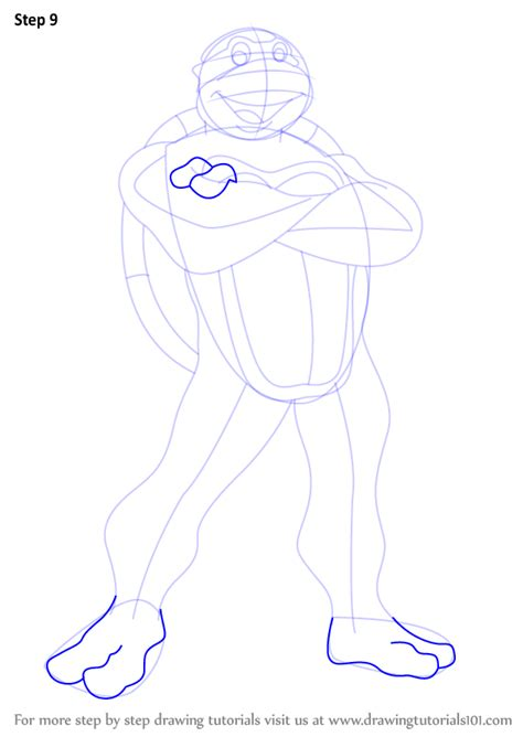 Step by Step How to Draw Raphael from Teenage Mutant Ninja