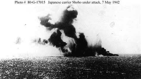 Battle of the Coral Sea -- Events of 7 May 1942