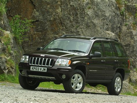 2003 JEEP Grand Cherokee UK Version pictures, review