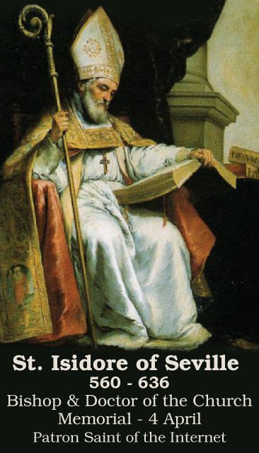 April 4th: Feast of St
