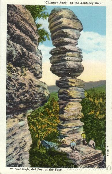 Chimney Rock on the Kentucky River Scenic, KY