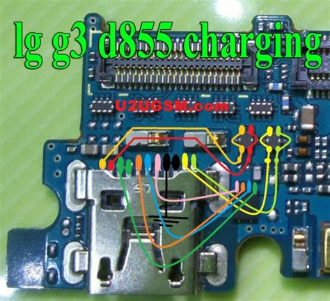 LG G3 D855 Charging Solution Jumper Problem Ways