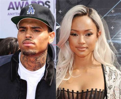 Chris Brown And Ex-Girlfriend, Karreuche Fight Dirty On