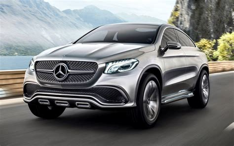 2014 Mercedes-Benz Concept Coupe SUV - Wallpapers and HD