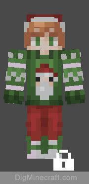 Ugly Sweater Contest Skin Pack in Minecraft