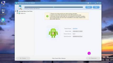 How to get back deleted pictures from android phone